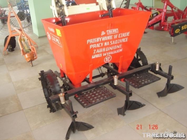 Машини за зеленчуци Картофосадач Akpil Planter 1H с торовнасяне 0