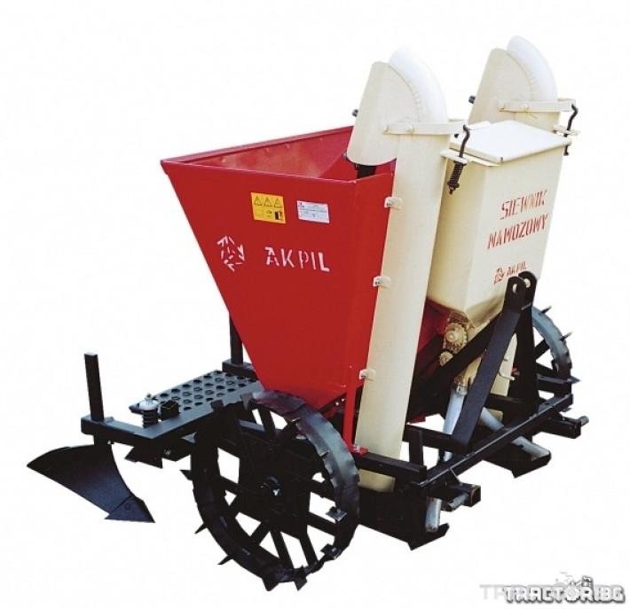 Машини за зеленчуци Картофосадач Akpil Planter 1H с торовнасяне 1