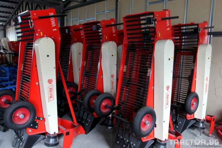 Машини за зеленчуци Картофовадач едно-редов лентов ПОЛСКИ 1 - Трактор БГ