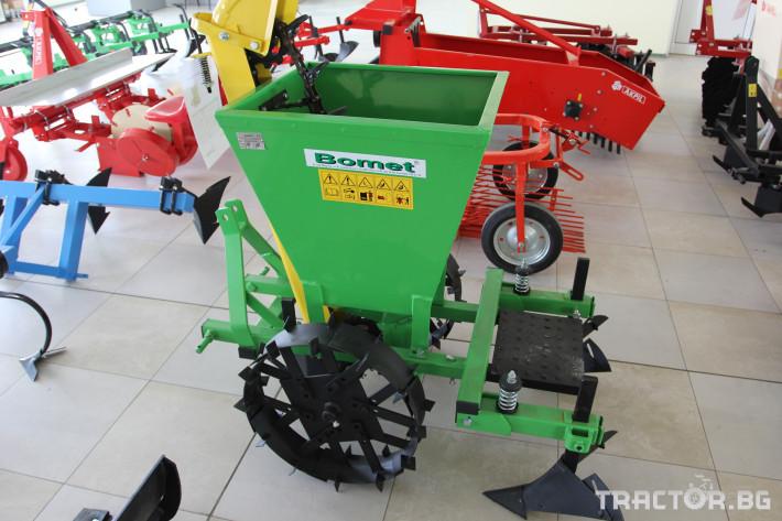 Машини за зеленчуци Едноредов картофосадач Bomet S239/2 4