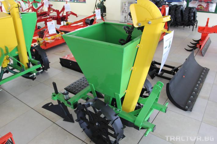 Машини за зеленчуци Картофосадач едно-редов ПОЛСКИ 4 - Трактор БГ