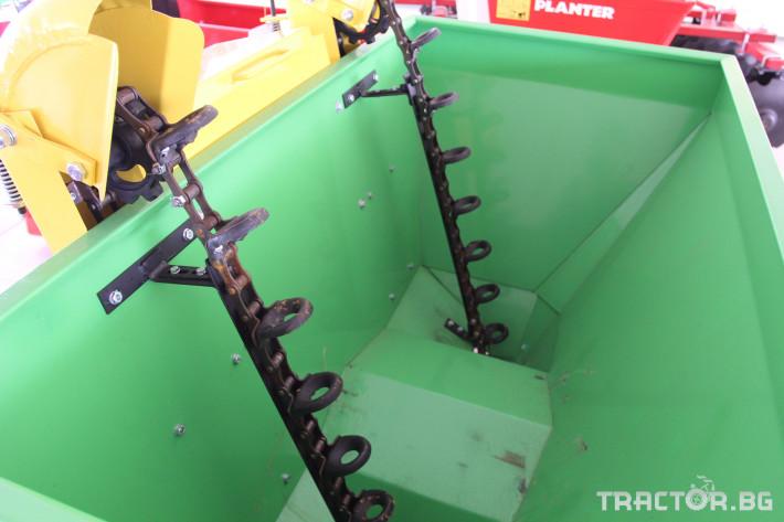 Машини за зеленчуци Картофосадач дву-редов с торовнасяне - ПОЛСКИ 2 - Трактор БГ