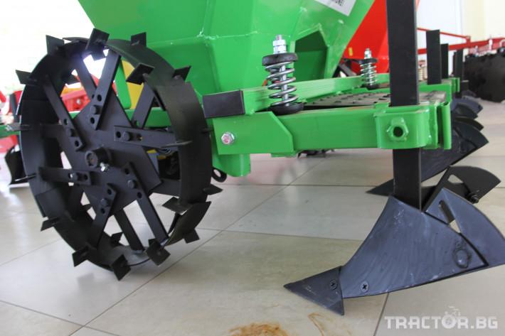 Машини за зеленчуци Картофосадач дву-редов с торовнасяне - ПОЛСКИ 3 - Трактор БГ