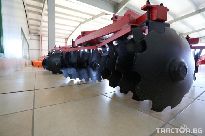 Брани Дискова брана 1.6 м., Х-образна, 400 кг.! 2