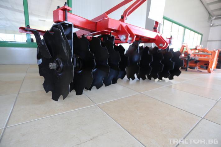 Брани Дискова брана Х-образна 24 диска, 2.0 м., 500 кг.! 3 - Трактор БГ