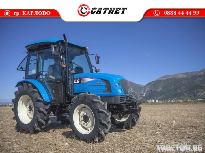 Трактори LS U60 *Климатик*Реверс*16х16 скорости*Mitsubishi двигател* 7