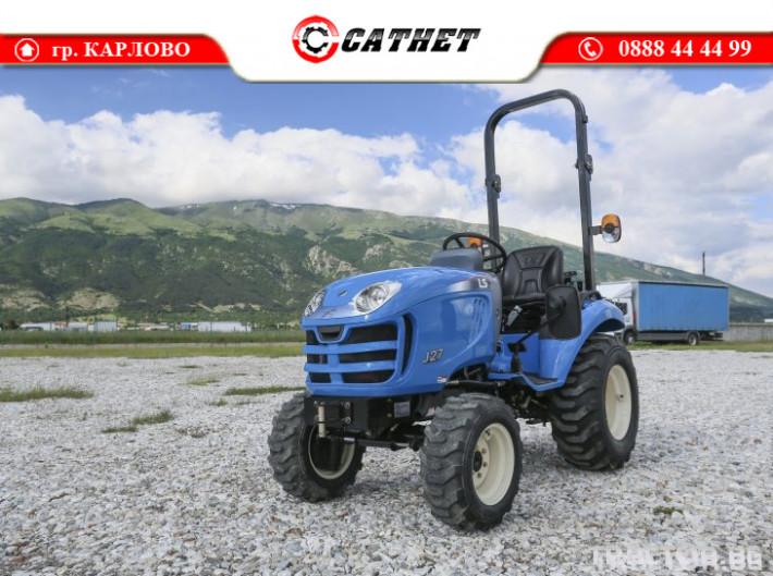 Трактори LS J 27 *Нов*Компактен трактор*Mitsubishi двигател* 2 - Трактор БГ