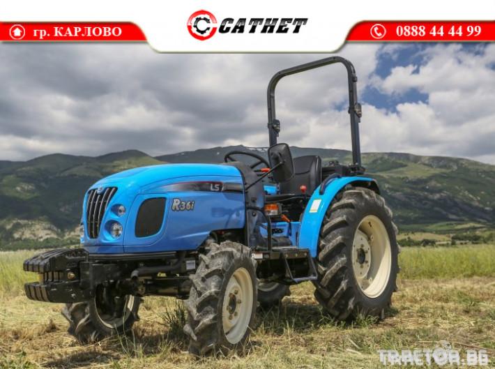Трактори LS R 36I *Нов*Реверс*12х12 скорости*Mitsubishi двигател 38 HP* 9 - Трактор БГ