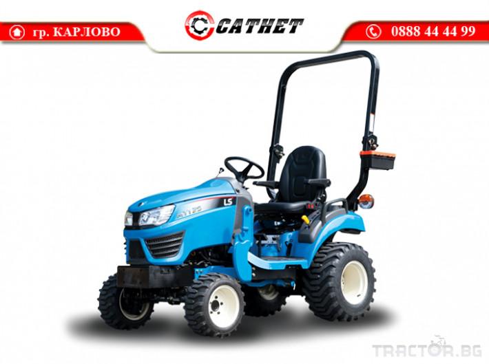 Трактори LS MT 1.25 *Нов*HST скорости *Yanmar двигател* 0 - Трактор БГ