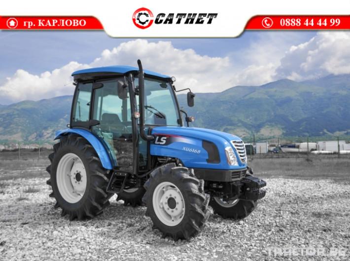Трактори LS XU6168 *Климатик*Реверс*16х16 скорости*Mitsubishi двигател* 11