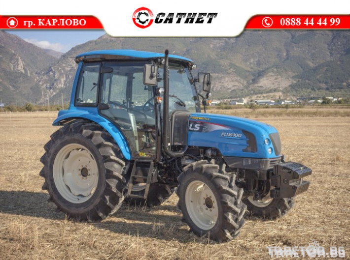 Трактори LS PLUS 100 *Нов*Климатик*Крийпър*40х40 скорости*IVECO двигател* 2 - Трактор БГ