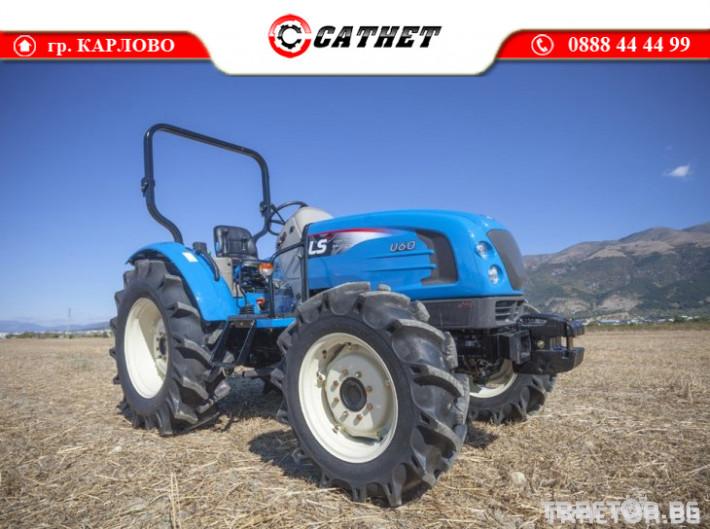 Трактори LS U60 *Климатик*Реверс*16х16 скорости*Mitsubishi двигател* 6