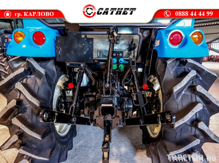 Трактори LS XR 50 *Нов*Климатик*Реверс*16х16 скорости*Mitsubishi двигател* 5 - Трактор БГ