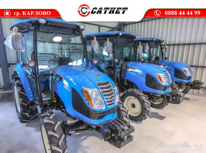 Трактори LS XR 50 *Нов*Климатик*Реверс*16х16 скорости*Mitsubishi двигател* 4 - Трактор БГ