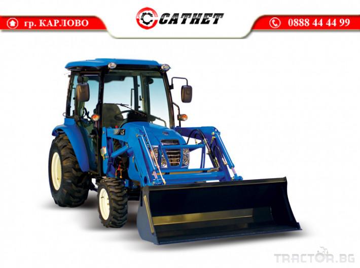 Трактори LS XR 50 *Нов*Климатик*Реверс*16х16 скорости*Mitsubishi двигател* 7 - Трактор БГ