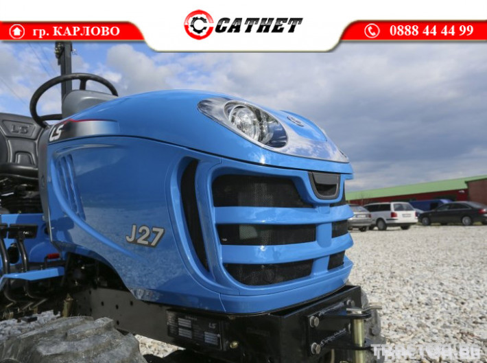Трактори LS J 27 *Нов*Компактен трактор*Mitsubishi двигател* 7 - Трактор БГ