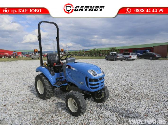 Трактори LS J 27 *Нов*Компактен трактор*Mitsubishi двигател* 9 - Трактор БГ