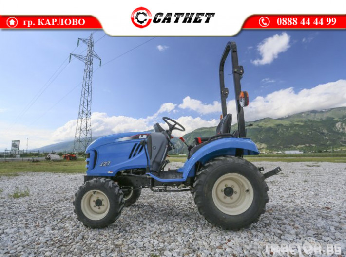 Трактори LS J 27 *Компактен трактор*Mitsubishi двигател* 2