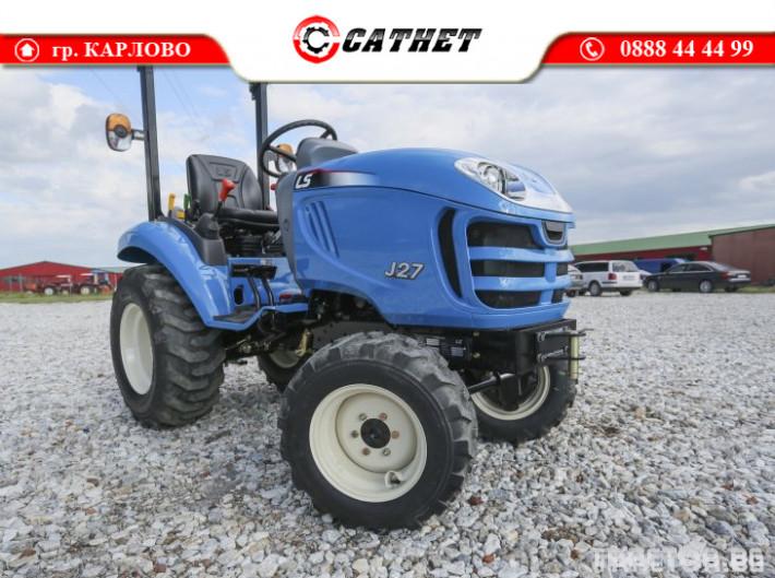 Трактори LS J 27 *Компактен трактор*Mitsubishi двигател* 6