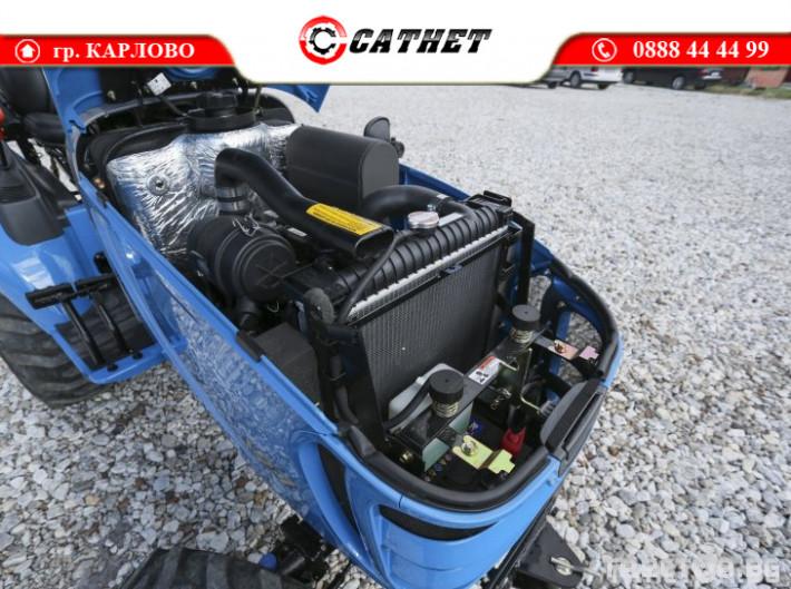 Трактори LS J 27 *Компактен трактор*Mitsubishi двигател* 8