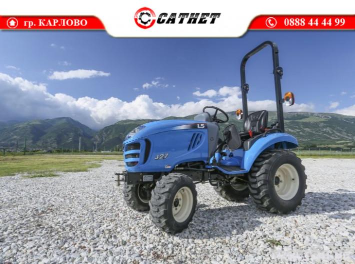 Трактори LS J 27 *Нов*Компактен трактор*Mitsubishi двигател* 3 - Трактор БГ