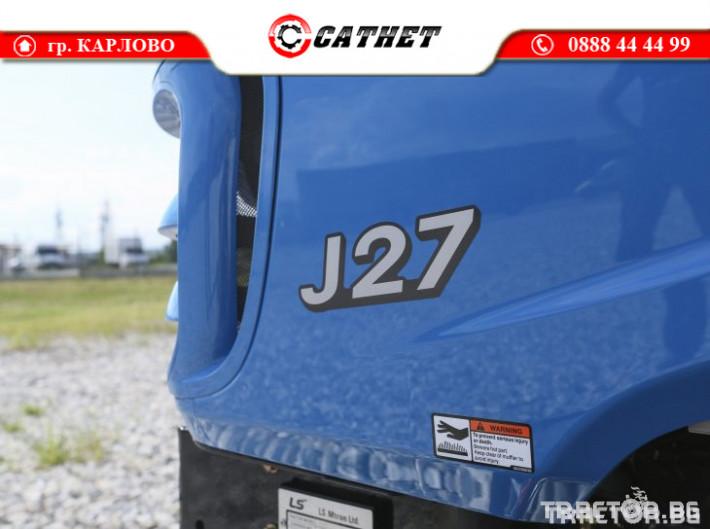 Трактори LS J 27 *Нов*Компактен трактор*Mitsubishi двигател* 19 - Трактор БГ
