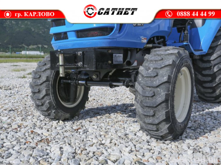 Трактори LS J 27 *Компактен трактор*Mitsubishi двигател* 14