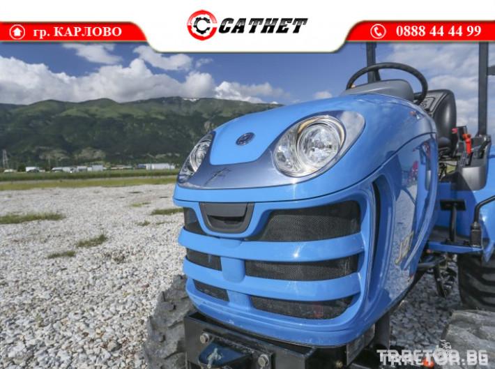 Трактори LS J 27 *Компактен трактор*Mitsubishi двигател* 18