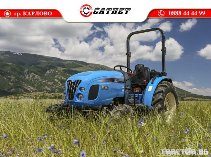 Трактори LS R 36I *Нов*Реверс*12х12 скорости*Mitsubishi двигател 38 HP* 2 - Трактор БГ