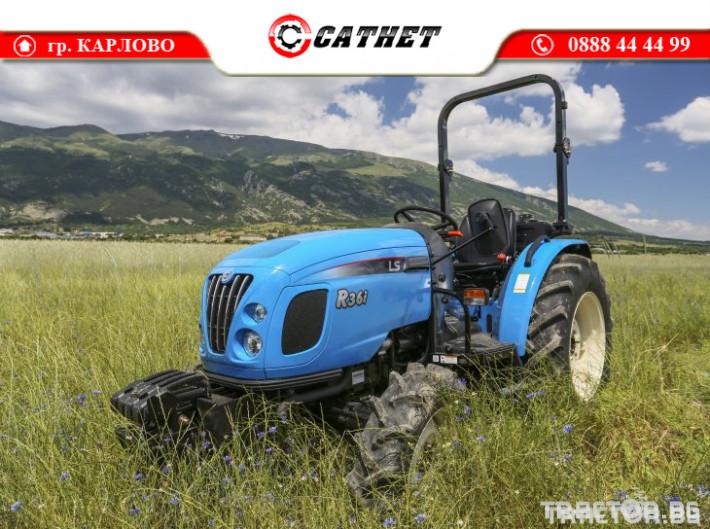 Трактори LS R 36I *Нов*Реверс*12х12 скорости*Mitsubishi двигател 38 HP* 5 - Трактор БГ