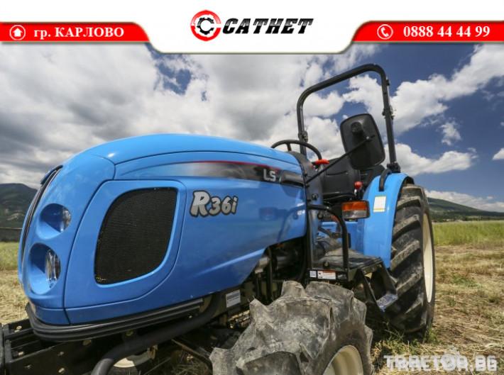 Трактори LS R 36I *Нов*Реверс*12х12 скорости*Mitsubishi двигател 38 HP* 4 - Трактор БГ