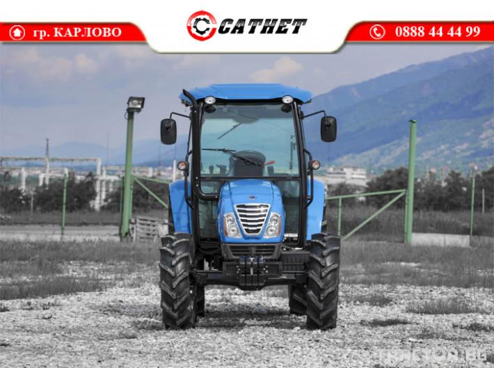 Трактори LS XU6168 *Нов*Климатик*Реверс*16х16 скорости*Mitsubishi двигател 68 HP* 3 - Трактор БГ
