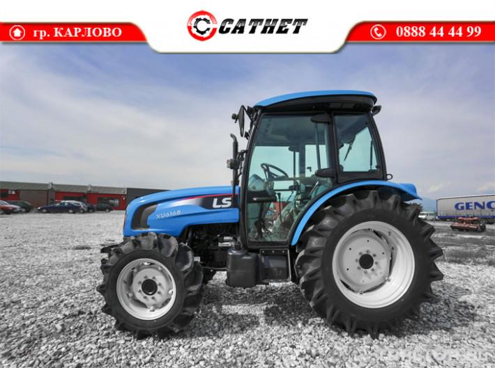 Трактори LS XU6168 *Нов*Климатик*Реверс*16х16 скорости*Mitsubishi двигател 68 HP* 2 - Трактор БГ