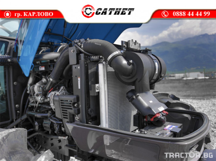 Трактори LS XU6168 *Нов*Климатик*Реверс*16х16 скорости*Mitsubishi двигател 68 HP* 6 - Трактор БГ