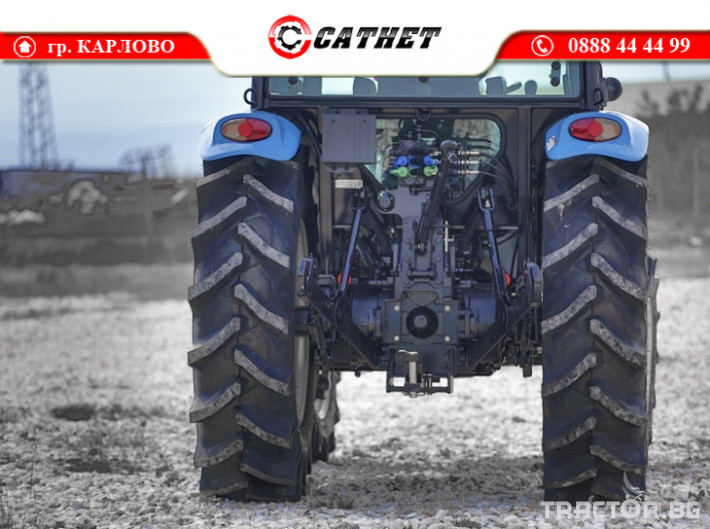 Трактори LS XU6168 *Нов*Климатик*Реверс*16х16 скорости*Mitsubishi двигател 68 HP* 5 - Трактор БГ