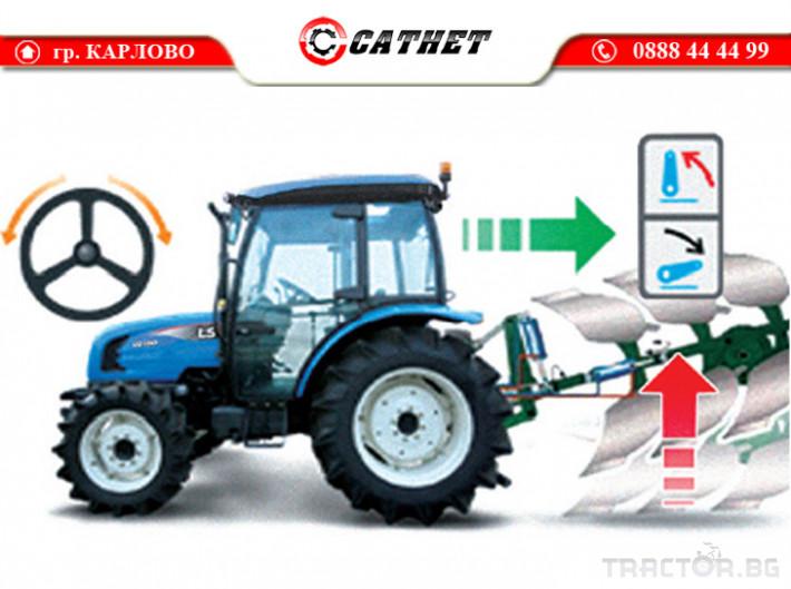 Трактори LS XU6168 *Нов*Климатик*Реверс*16х16 скорости*Mitsubishi двигател 68 HP* 9 - Трактор БГ