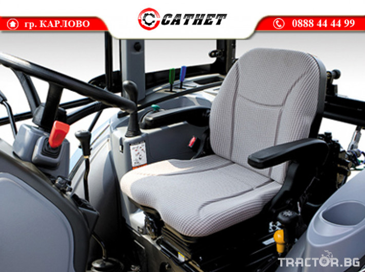 Трактори LS XU6168 *Нов*Климатик*Реверс*16х16 скорости*Mitsubishi двигател 68 HP* 10 - Трактор БГ