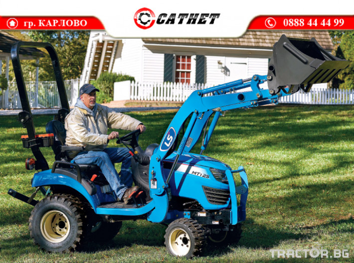 Трактори LS MT 1.25 *Нов*HST скорости *Yanmar двигател* 6 - Трактор БГ