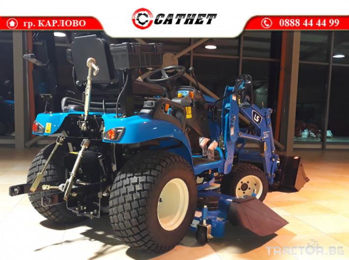 Трактори LS MT 1.25 *Нов*HST скорости *Yanmar двигател* 3 - Трактор БГ