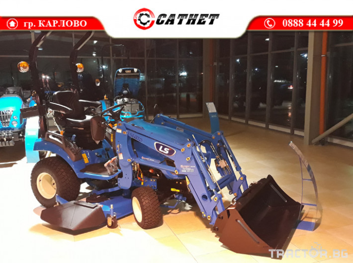 Трактори LS MT 1.25 *Нов*HST скорости *Yanmar двигател* 2 - Трактор БГ