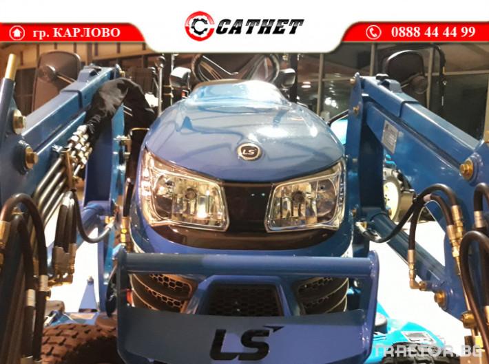 Трактори LS MT 1.25 *Нов*HST скорости *Yanmar двигател* 5 - Трактор БГ