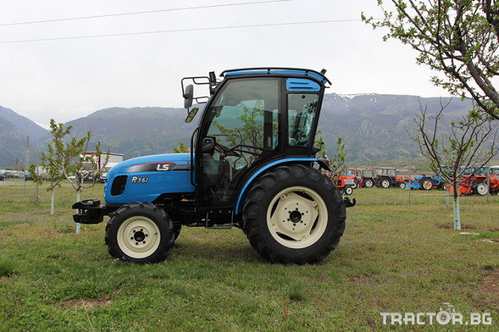 Трактори LS R 36i с Кабина*Нов *Климатик*Реверс*12х12 скорости*Mitsubishi двигател*40к.с.* 4 - Трактор БГ
