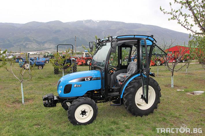 Трактори LS R 36i с Кабина*Нов *Климатик*Реверс*12х12 скорости*Mitsubishi двигател*40к.с.* 8 - Трактор БГ