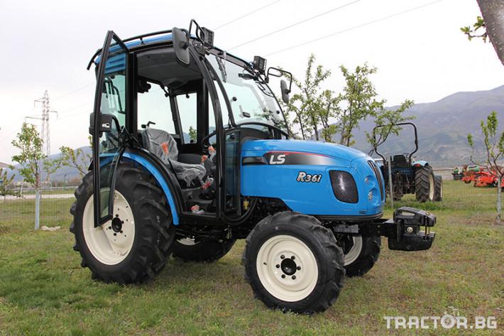 Трактори LS R 36i с Кабина*Нов *Климатик*Реверс*12х12 скорости*Mitsubishi двигател*40к.с.* 14 - Трактор БГ