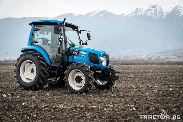 Трактори LS MT 5.73 *Климатик*Крийпър*20х20 скорости*Mitsubishi двигател* 0