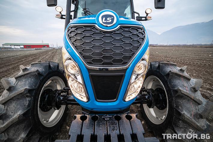 Трактори LS MT 5.73 *Климатик*Крийпър*20х20 скорости*Mitsubishi двигател* 2