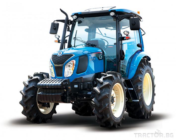 Трактори LS MT 5.73 *Климатик*Крийпър*20х20 скорости*Mitsubishi двигател* 4
