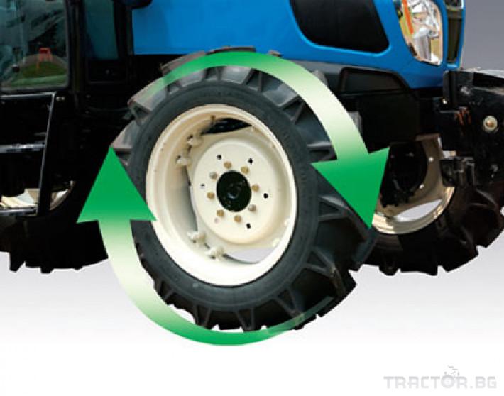 Трактори LS MT 5.73 *Климатик*Крийпър*20х20 скорости*Mitsubishi двигател* 5