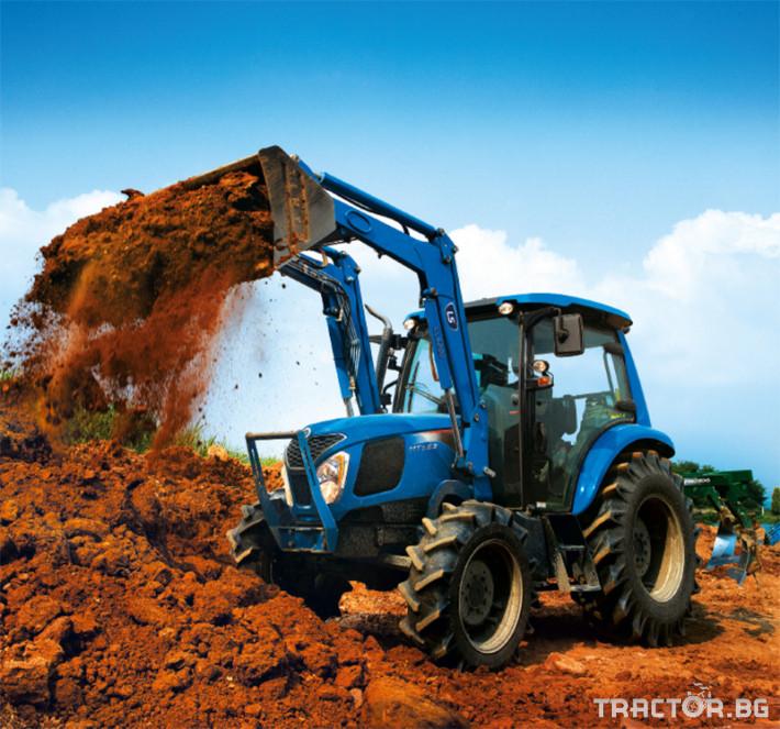 Трактори LS MT 5.73 *Климатик*Крийпър*20х20 скорости*Mitsubishi двигател* 9
