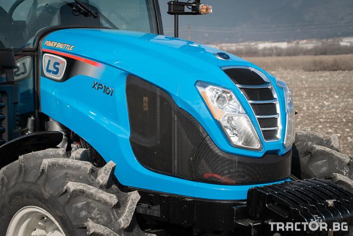 Трактори LS XP 101 *Нов*Климатик*Крийпър*40х40 скорости*IVECO двигател 101 HP* 4 - Трактор БГ